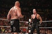 Wwe seth rollins vs brock lesnar for wwe world heavyweight championshipe in battleground 2015 full match  (Undertaker is back)