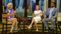 Ali Wentworth on Live! with Kelly and Michael