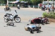 Horrified accidents on streets-Accidentes Fatales En Moto EN VIVO 2015