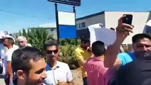 Protest against SAD Badal canada & Usa khalistani slogans raised