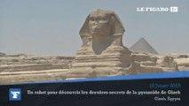 Un robot pour découvrir les derniers secrets de la pyramide de Gizeh