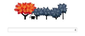 First Day Of Autumn 2014 Google Doodle