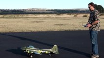 HobbyKing B-17 Memphis Belle Second flight 9-30-2011