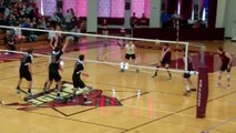 Springfield College Men's Volleyball Sweeps MIT - Highlights and Postgame Comments - April 13, 2013