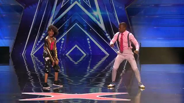 Nick Cannon Has a Dance Off With a Kid on Americas Got Talent Americas Got Talent 2015