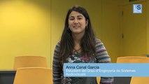 Anna Canal, estudiant del Grau en Enginyeria de Sistemes Audiovisuals