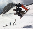 First TRIO BACKFLIP ever landed on skis !
