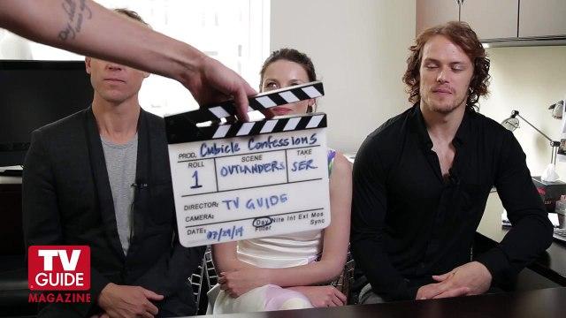 Outlander! Caitriona Balfe, Sam Heughan and Tobias Menzies confess all!