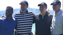 Justin Timberlake and Alfonso Ribeiro Do the Carlton Dance on Golf Course