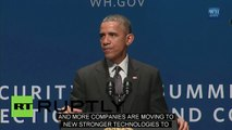 USA: Obama reveals old passwords: '12345', and 'password'