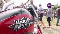 Rassemblement Harley Davidson à Saint-Sauveur-le-Vicomte [TéVi] 15_07_20