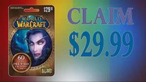 How to Get World of Warcraft 60 day Subscription gift card generator 30$ [with Proof] updated in