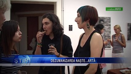 Expozitie 'Black Fire' Ada Muntean