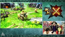 Monster Hunter X Gameplay Part 1  Monster Hunter Cross