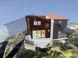 Architecte en Corse Projet d'Architecture contemporaine écologique (Infographie 3D)