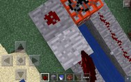 how to make a tnt cannon in mincrafte pe using block launcher