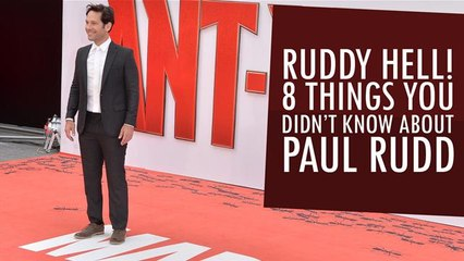 Ruddy Hell! 8 Things You Didn't Know About Paul Rudd