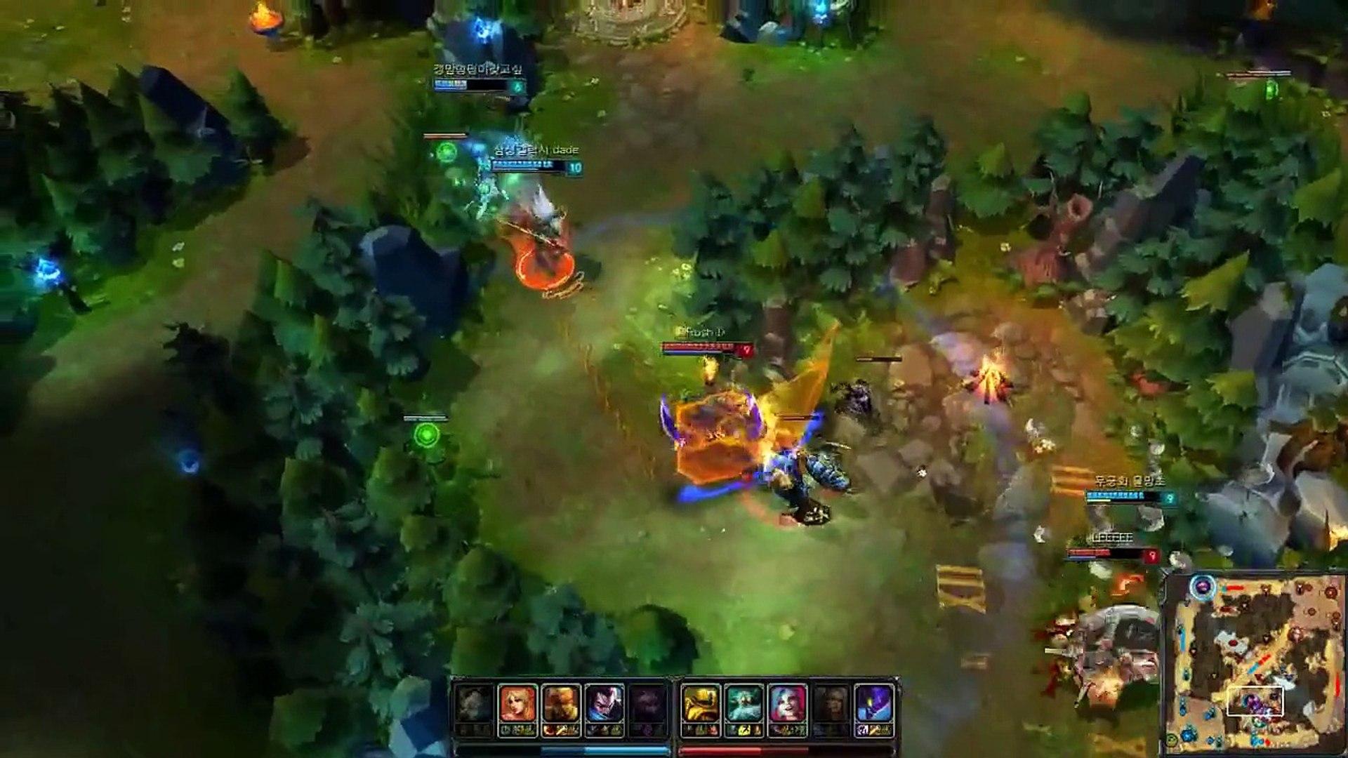 LOL Pro - Dade (Yasuo vs Zilean) - Korea SoloQ (Highlights)