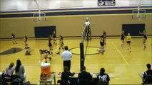Cy-Ranch vs Cy-Fair: HS Freshman (9th grade) Volleyball 3rd set, 09/2011