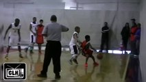 6th Grader DUNKS IN GAME Shemar Morrow Dunk at NYBL Class of 2020 Basketball