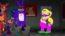 lhugueny MARIO VS FREDDY Five Nights At Freddys Animation Parody