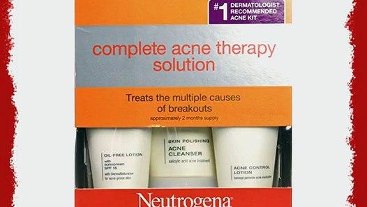 Neutrogena Complete Acne Therapy System 3tlg Anti Akne Pickel Set Video Dailymotion