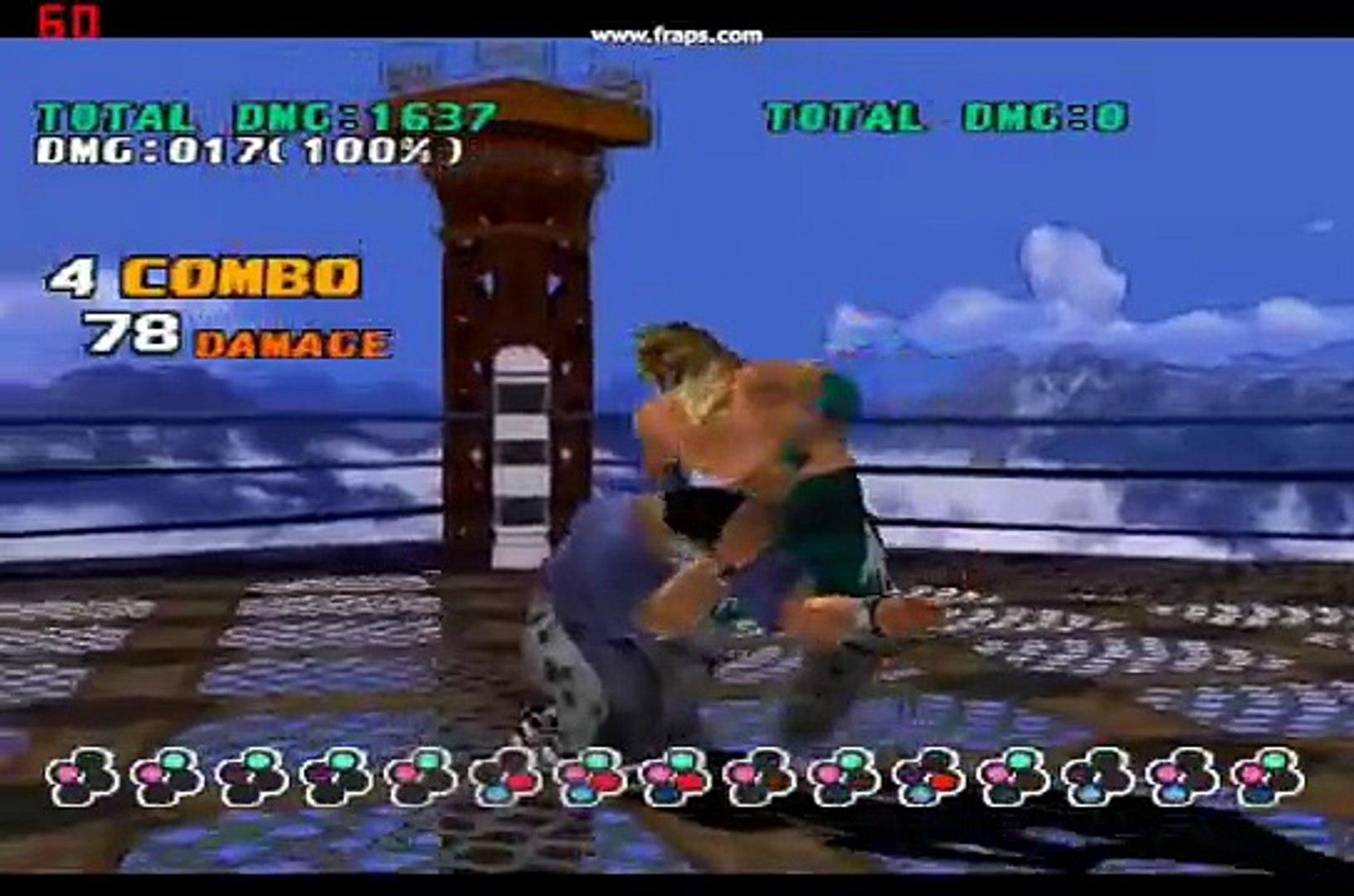 Tekken3 King Combos Video Dailymotion