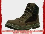 Superfit 30047312  TEDD Jungen Hohe Sneakers Braun (MOCCA MULTI 12) 37 EU (4 Kinder UK)