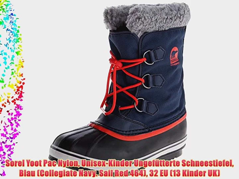 Sorel Unisex-Kinder Childrens Yoot Pac Nylon Schneestiefel