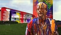 ad spoof sony bravia painted man
