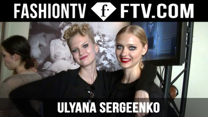 Ulyana Sergeenko Backstage | Paris Haute Couture Fall/Winter 2015/16 | FashionTV