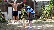Garden Cricket Romford Essex England Triangular Test Match Highlights
