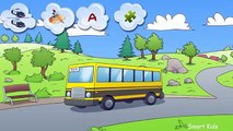 About cars for kids   Bus   Autobus   School Bus   Cartoon about bus