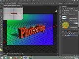 Photoshop Tutorial -How To Create A 3D Crome Text Effect
