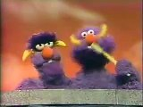 Classic Sesame Street: 2-headed Monster uses a toothbrush