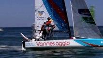 Voile - Tour de France à la voile 2015 : Groupama se trompe, Vannes-Agglo s'impose