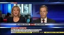 UKIP Nigel Farage ...UKIP now 2nd in UK polls 14th Jan 2013
