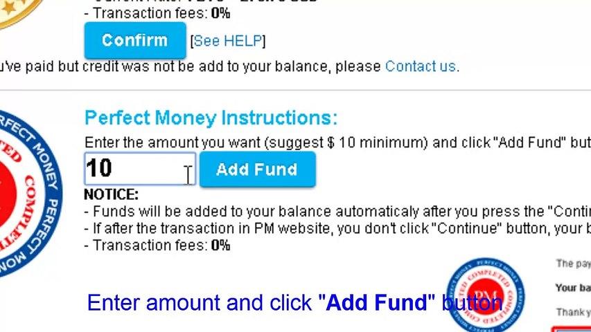 UKData.me - How to add fund via PM