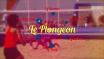 Le beach tennis - les coups : le plongeon
