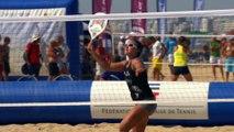 Le beach tennis - les coups : le rush