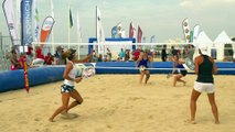 Le beach tennis - les coups : le smash