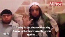 ISIS fighters purchasing girls Leaked Video
