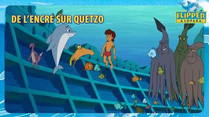 Flipper et Lopaka - De l'encre sur Quetzo - S3E07