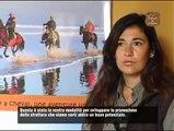 tourisme equestre au Maroc - Ranch Diabat- à cheval à Essaouira-balade sur la plage
