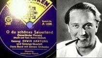 O du schönes Sauerland Sauerländer Marsch Erwin Hartung Hans Bund mit seinem Orchester