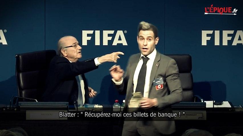 FIFA : quand Sepp Blatter demande de récupérer les faux billets !