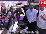 The TGA Breeze S4 Mobility Scooter at Naidex National 2013