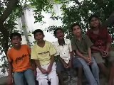 SEAMS boys singing - Global Volunteers in India