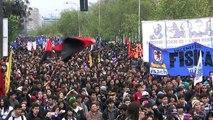 Chile: Brutal represión policial contra marcha estudiantil