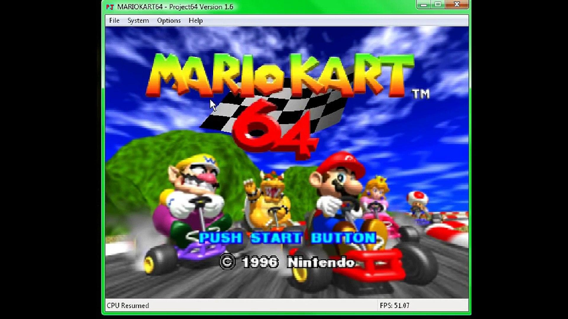 Mario Kart 64 Cheats Codes Awsome